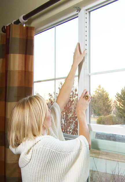 Double Hung Window Security Bar : Home security burglar bar childproof proof